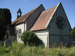St Leonards Church, Spernall Church in Warwickshire, England