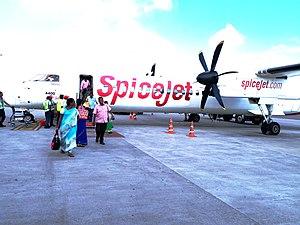 SpiceJet - Spicejet Q400