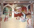 Spinello aretino, preghiera e matrimonio mistico di s. caterina 01.JPG