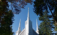 Spire of the Portland Oregon Temple, 2018.jpg