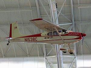 Jerrie Mock - Jerrie Mock's Spirit of Columbus, a Cessna 180