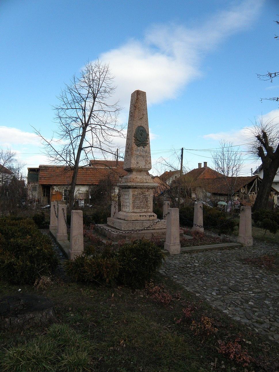 Spomenik na mestu pogibije Hajduk Veljka