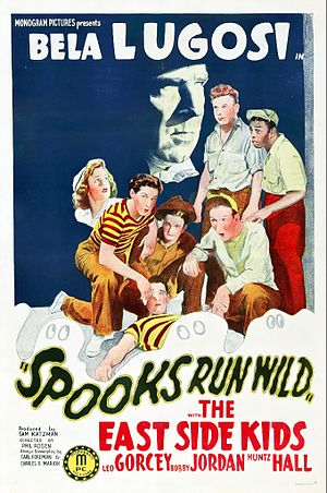 Spooks Run Wild - Theatrical poster