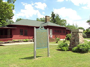 National Register of Historic Places listings in Lapeer County, Michigan - Image: Squier Historic Park