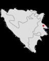 Srebrenica position.png