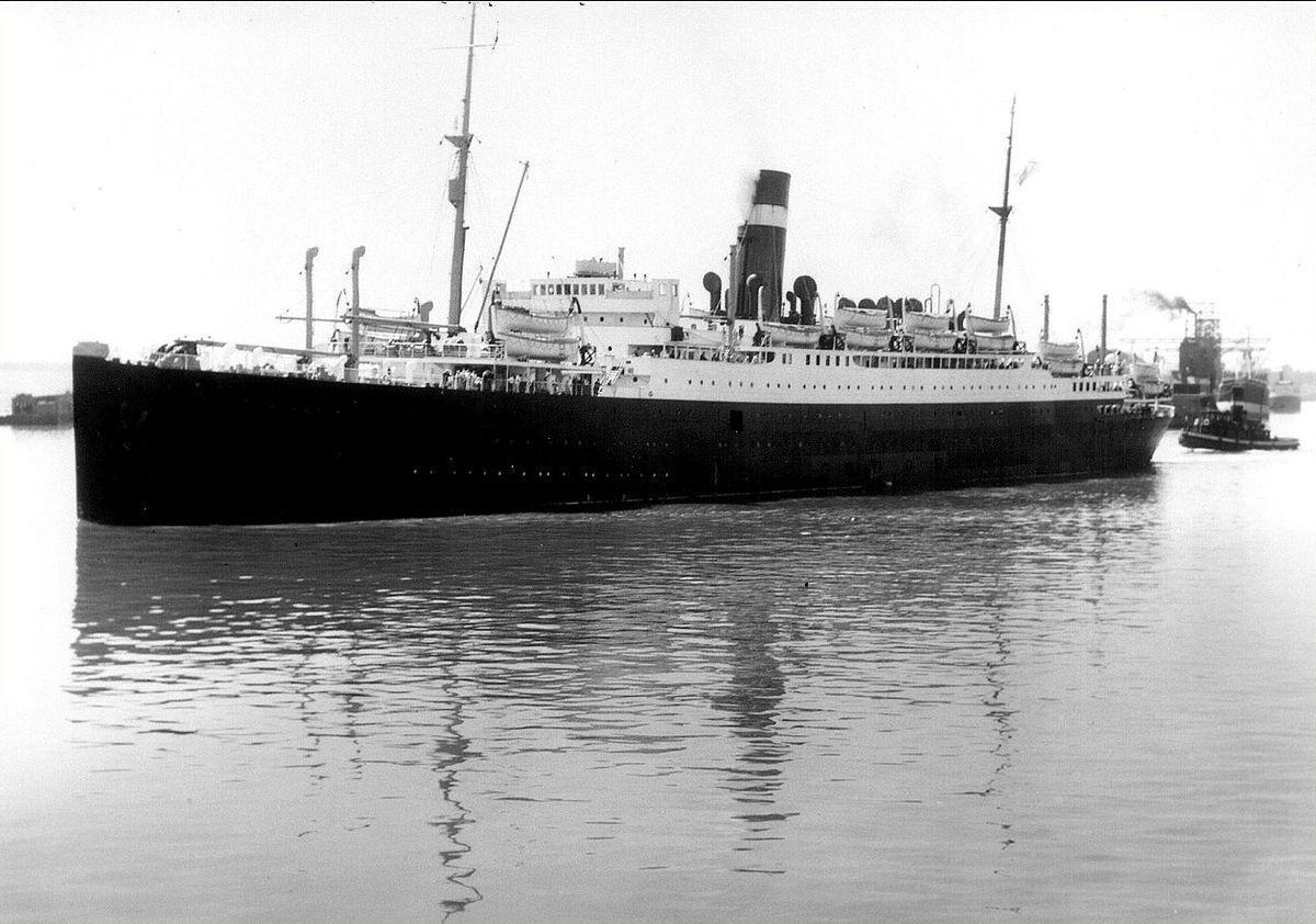 SS Athenia (1922) - Wikipedia