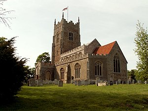 Great Bromley - Image: St. George; the parish church of Great Bromley geograph.org.uk 810098