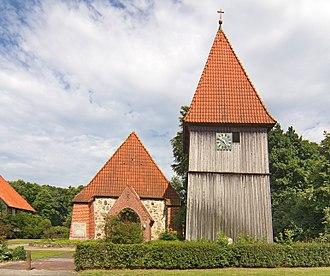 Steinhorst, Lower Saxony - The lutheran church in Steinhorst