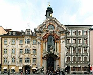 Asam Church, Munich - Asamkirche Munich