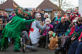 St Albans Mummers production of St George and the Dragon, Boxing Day 2015-2.jpg
