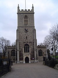 St Dunstan's Church, Stepney