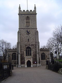 ancient civil and ecclesiastical parish in the historic county of Middlesex