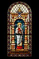 St Elisabeth of Hungary (18. century, stained glass).jpg