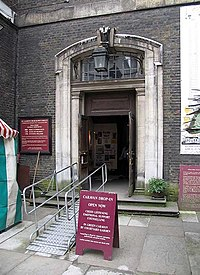 St James Church, Piccadilly - Doorway - geograph.org.uk - 834559.jpg