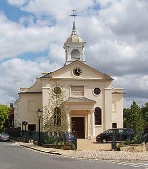 Proprietary chapel - St John's Downshire Hill, Hampstead