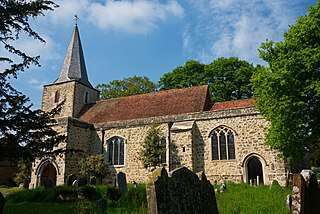 Pluckley Human settlement in England
