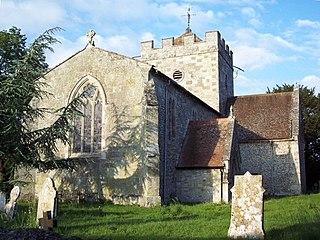 Britford village in the United Kingdom