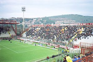 Stadio Renato Curi - Image: Stadio Renato Curi Perugia Curva Nord