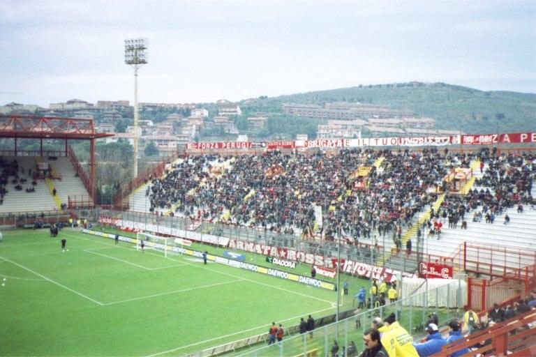 Stadio Renato Curi Perugia Curva Nord