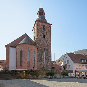 Annweiler am Trifels - Protestant church at the Marktplatz
