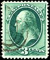 Stamp US 1870 3c Washington