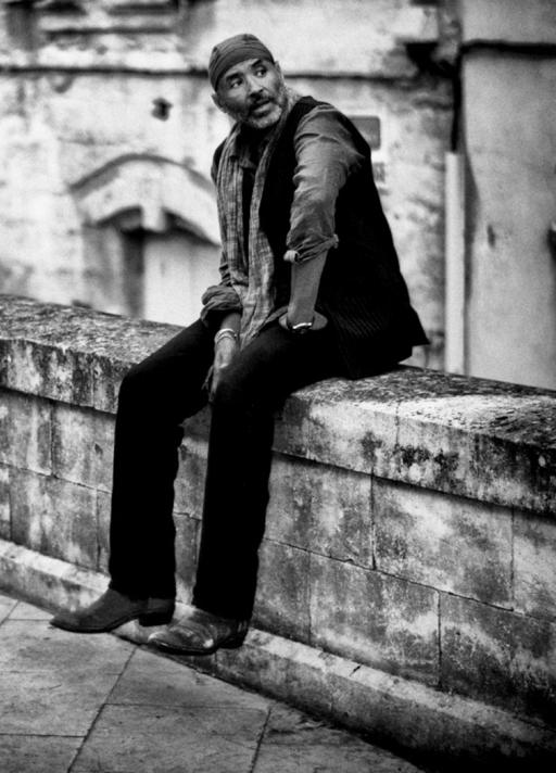 Stanley Greene in Uzès, France, 2008