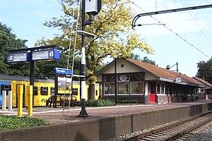 Den Dolder railway station - Image: Station Den Dolder september 2008
