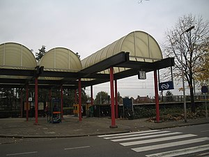 Leerdam railway station - Image: Station Leerdam