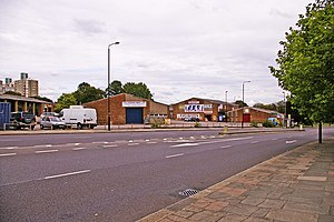 A109 road (England) - Image: Station Road, London N11 (A109) geograph.org.uk 931131