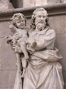Photo d'une statue de saint Joseph