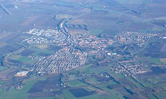Steenbergen - Aerial view of Steenbergen
