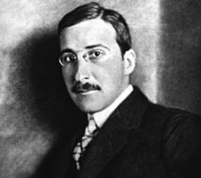 Picture of an author: Stefan Zweig
