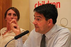 Stephen Twigg - Twigg speaking in 2013