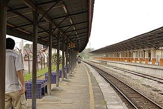 Wakaf Bharu - Image: Stesenkeretapiwakafb haru