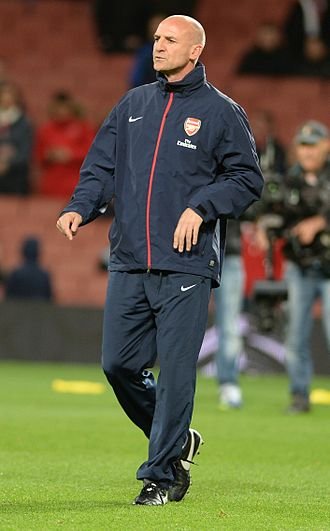 Steve Bould - Bould in his role as Arsenal's assistant manager.