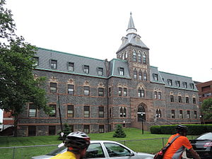 Landmarks of Hoboken, New Jersey - Stevens Hall