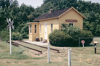 Kent Island (Maryland) - Stevensville Train Depot