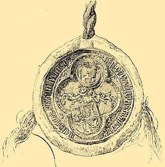Stibor of Stiboricz - Seal of Stibor