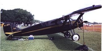 Stinson Aircraft Company - A 1928-built Stinson SM-2 Junior at Lakeland, Florida, in April 2007