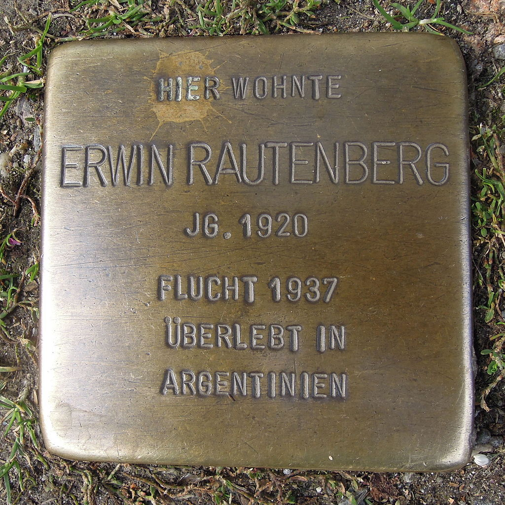Stolperstein für Erwin Rautenberg