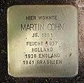 Stolperstein Flotowstr 9 (Hansa) Martin Cohn.jpg