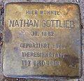 Stolperstein Gaußstraße 14 Nathan Gottlieb.jpg