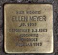 Stolperstein Gipsstr 23a (Mitte) Ellen Meyer.jpg