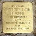 Stolperstein Meerscheidtstr 13 (Westend) Charlotte Luise Fischer.jpg