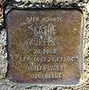 Stolperstein Olafstr 8-10 (Hermd) Käthe Köppen.jpg