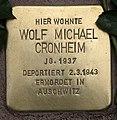 Stolperstein Pariser Str 11 (Wilmd) Wolf Michael Cronheim.jpg