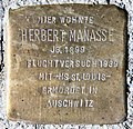 Stolperstein Pariser Str 37 (Wilmd) Herbert Manasse.jpg