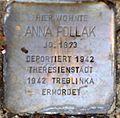 Stolperstein Salzburg, Anna Pollak (Rainerstraße 4).jpg
