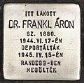 Stolperstein für Dr. Aron Frankl (Kiskunhalas).jpg