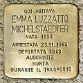 Stolperstein für Emma Luzzatto Michelstaedter in Gorizia.jpg